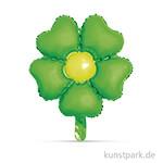 Folienballon Blume, 45x55 cm Immergrün