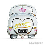 Folienballon Hochzeitsauto, 49x63 cm