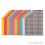 Fotokarton Bunt, DIN A4, 250 g, 20 Blatt sortiert