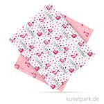 Fotokarton - Flamingo 2, DIN A4, 300 g