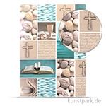 Fotokarton Prayer - Christliche Symbole, DIN A4, 300g
