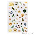 Gelsticker - Nature Matters Grün, 45 Stück sortiert