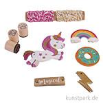 Geschenkanhänger-Set - Unicorn