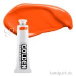 Golden HEAVY BODY Acrylfarben 60 ml | 1276 Pyrrol Orange