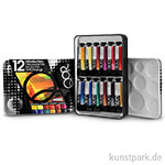 Golden QoR Water Colours - Introductory Set mit 12 Tuben 5 ml