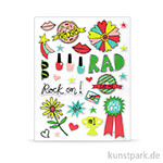 Good Vibes Collection - Puffy Stickers, 28 Stück
