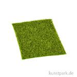 Gras-Matte, 14 x 14 cm