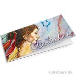 KUNSTPARK Gutschein - Frau im Wind