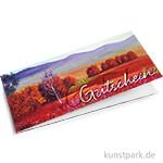 KUNSTPARK Gutschein - Rotes Feld 20,- EUR