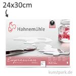 Hahnemühle EXPRESSION Aquarell Papier, 20 Blatt, 300g - matt 24 x 30 cm