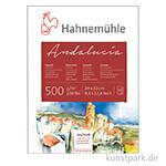 Hahnemühle ANDALUCIA Aquarellkarton, 12 Blatt, 500g rau/matt