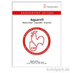 Hahnemühle ANNIVERSARY Aquarellblock, 15 Blatt, 425g, matt 30 x 40 cm