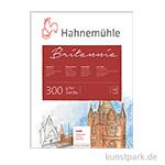 Hahnemühle BRITANNIA Aquarellblock, 12 Blatt, 300g matt 30 x 40 cm
