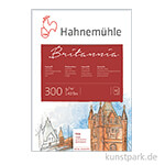 Hahnemühle BRITANNIA Aquarellblock, 12 Blatt, 300g rau 30 x 40 cm