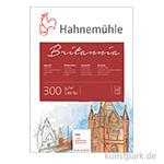 Hahnemühle BRITANNIA Aquarellblock, 12 Blatt, 300g rau 36 x 48 cm