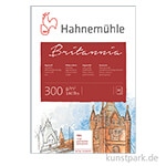 Hahnemühle BRITANNIA Aquarellblock, 12 Blatt, 300g rau
