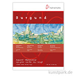 Hahnemühle BURGUND Aquarellblock, 20 Blatt, 250g rau