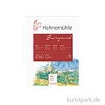 Hahnemühle BURGUND Aquarellblock, 20 Blatt, 250g matt 17 x 24 cm