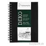 Hahnemühle DEKO Skizzenbuch, 62 Blatt, 140g, schwarz