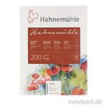 Hahnemühle Echt-Bütten Aquarellblock, 20 Blatt, 200g rau 30 x 40 cm