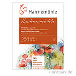 Hahnemühle Echt-Bütten Aquarellblock, 20 Blatt, 200g rau