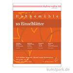 Hahnemühle Echt-Bütten Aquarellpapier, 10 Bogen, 200g rau