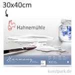 Hahnemühle HARMONY Aquarell Papier, 12 Blatt, 300g - rau 30 x 40 cm