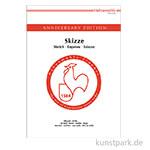 Hahnemühle JUBILÄUM Skizzenpapier, 50 Blatt, 140g
