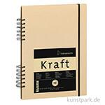 Hahnemühle KRAFTPAPIER Skizzenbuch, 80 Blatt, 120g