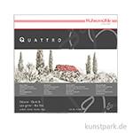 Hahnemühle QUATTRO Skizzenblock, 50 Blatt, 170g 40 x 40 cm