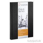 Hahnemühle Skizzenbuch D&S, 140g, schwarz
