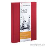 Hahnemühle Skizzenbuch D&S, 80 Blatt, 140g, rot