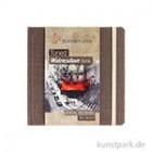 Hahnemühle Toned Watercolour Book Beige, 30 Blatt, 200g 14 x 14 cm
