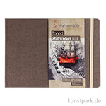 Hahnemühle Toned Watercolour Book Beige, 30 Blatt, 200g DIN A5