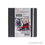 Hahnemühle Toned Watercolour Book Grey, 30 Blatt, 200g 14 x 14 cm