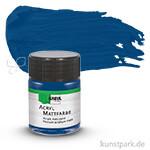 HOBBY LINE Acryl Mattfarbe 50 ml | Dunkelblau