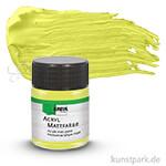 HOBBY LINE Acryl Mattfarbe 50 ml | Lemon