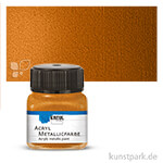 HOBBY LINE Acryl Metallicfarbe 20 ml | Goldbronze