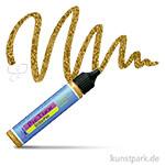 HOBBY LINE PicTixx GlitterPen 29 ml   Gold