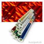 Holographische Folie 0,4x1 m Rolle, selbstklebend Rolle | Magic Rot