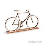 Holz-Fahrrad zum Stellen, 20x11 cm