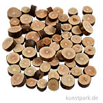 Holzscheiben-Mix, Durchmesser 10-15 mm, 230 g