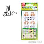 Index-Sticker - Funland, 7,5x15 cm, 10 Blatt sortiert
