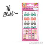 Index-Sticker - Sweet, 7,5x15 cm, 10 Blatt sortiert