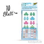 Index-Sticker - X-Mas, 7,5x15 cm, 10 Blatt sortiert