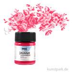 JAVANA Seidenmalfarbe 50 ml | Rot