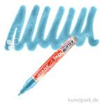 JAVANA Texi Mäx GLITTER - Stoffmalstift mit Glitzer-Effekt Stift | Türkis