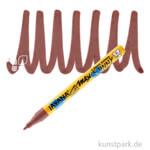 JAVANA Texi Mäx SUNNY fine - Stoffmalstift 1-2 mm Stift | Braun