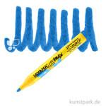 JAVANA Texi Mäx SUNNY - Stoffmalstift 2-4 mm Stift | Blau