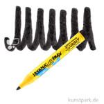 JAVANA Texi Mäx SUNNY - Stoffmalstift 2-4 mm Stift | Schwarz